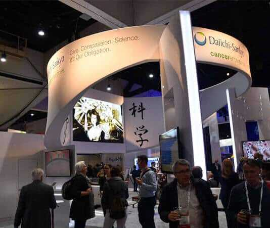 Daiichi Sankyo Exhibition booth