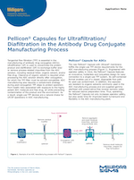 Pellicon® Capsules for Ultrafiltration/Diafiltration in the Antibody Drug Conjugate Manufacturing Process