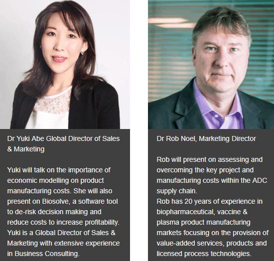 Dr. Yuki Abe and Dr. Rob Noel