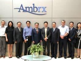 Signing Ceremony between Ambrx an NovoCodex. Courtesy 2019 NovoCodex.