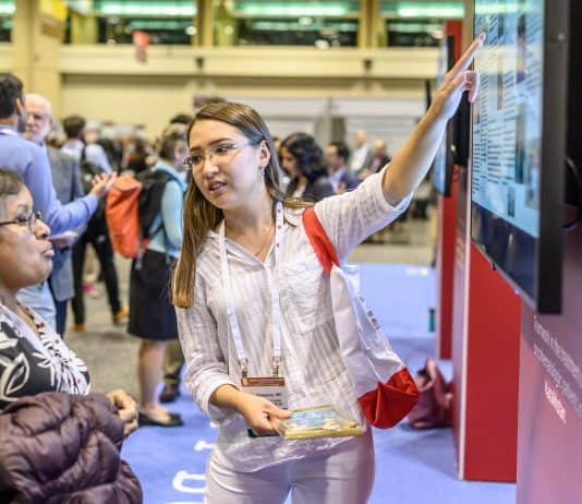 Speakers and attendees during Global Capacity Building Showcase at the American Society of Hematology 61th Annual Meeting at the Orange County Convention Center on Sunday December 8, 2019. Photo Courtesy 2019 © ASH/Nick Agro