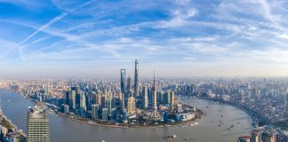 Featured image: An aerial view of the Yangtze River Delta/Shanghai in the southern Jiangsu province and northern Zhejiang province. Photo Courtecy: 2015 - 2020 © VCG/Gettyimages. Used with permission.