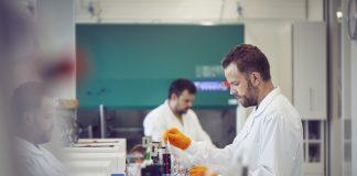 Featured Image: Genmab's bioreactor laboratory. Photo Courtesy: 2020 Genmab.
