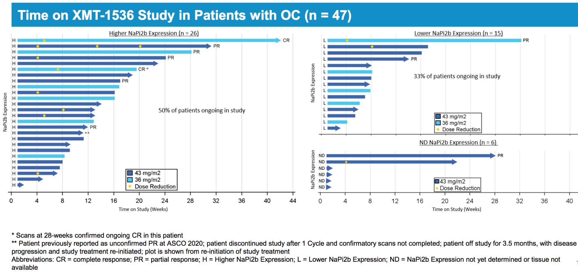 Esmo 2020 Xmt 1536 Shows 34 Orr In Phase I Expansion Study In Ovarian Cancer Adc Review